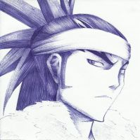 Renji in Pen by simplexcalling