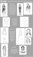 PLYW - the 1st sketches by Elenai