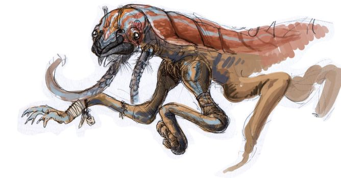 That same lobstery alien dude by Exobio