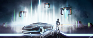 Tron Legacy by AS001