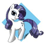 Rarity Always Pretty by johnjoseco