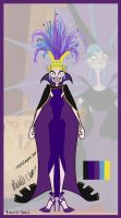 Disney Invasion: Most High Empress Yzma by mzclark