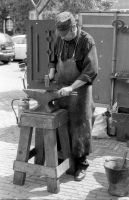 The farrier, or shoe smith. by TLO-Photography