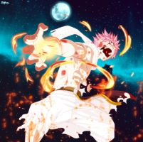 Natsu Dragneel - Wrath of Fire by Ztfun