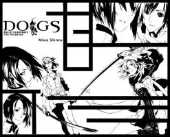 Dogs - Fuyumine wallpaper by WICuli