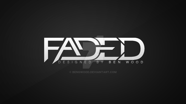 Faded Logo by BenGWood