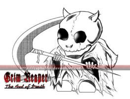God of Death by CupHa1ful