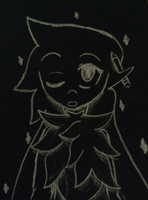 Charcoal doodle by 0froggydog0