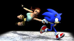 SONIC!!! Will You Bloody Slow Down!!! by Irishhips