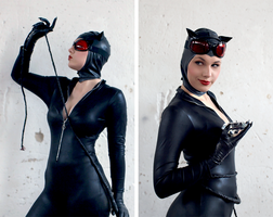Catwoman by mockingbee
