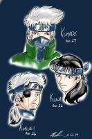 Sons of Kakashi by sharem