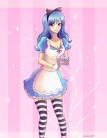 Juvia as Alice concept. by Inspired-Destiny