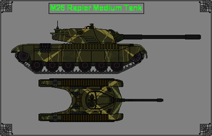 M26 Rapier Medium Tank by GratefulReflex