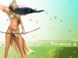 DOEK Pocahontas Wallpaper by steevinlove