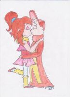 Kiss the girl by brittanyandalvin