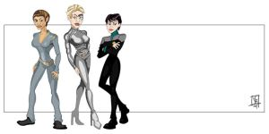 Women of Star Trek I by Bleezer
