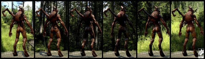 Humanoid bug concept back by CGPTTeam