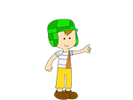 El Chavo - Adventure Time style by MarcosLucky96