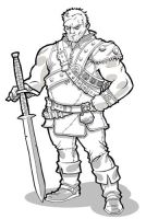 Coop the Barbarian ver.1 by JoelRCarroll