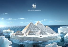 wwf climate change advertising by MP-Design