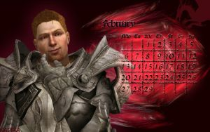February '12 - Alistair by Sorceress-Nadira