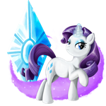 Rarity by PlatinumPegasister