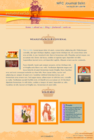 WeasleyFanClub Journal Skin by extraordi-mary
