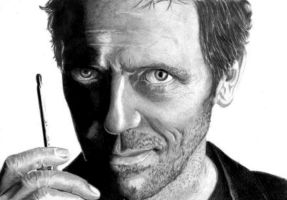 house hugh laurie 2 by pencilordie