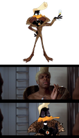 Daffy / Ruby Rhod by albadune