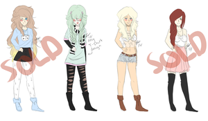 Sexy Adoptables - OPEN by drive-a-leaf