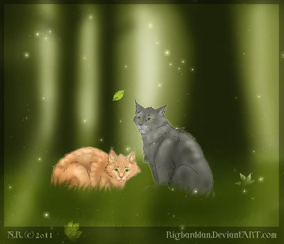 The Forest Cats by Rigbarddan