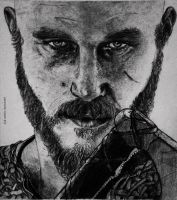 Ragnar Lothbrok by mad-rainbow