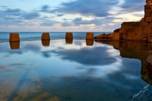 Coogee Reflections by FireflyPhotosAust