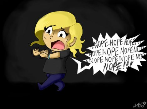 NOPE. by AllThesePiecesOfMe