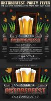 Oktoberfest Club-Party Flyer Template by Hotpindesigns