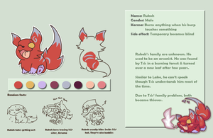 Rukoh character profile by PhuiJL
