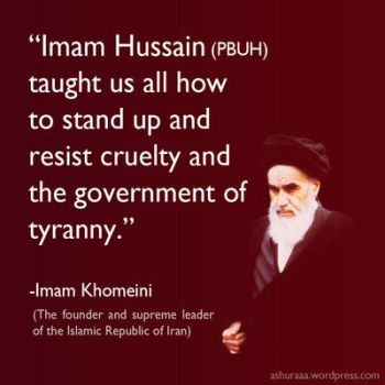 Quote about Imam Hussain by zhrza