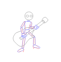 How to Draw a Guitarist by Gamekirby