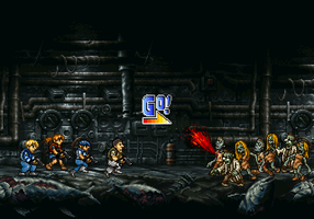Metal Slug x Resident Evil by dollarcube