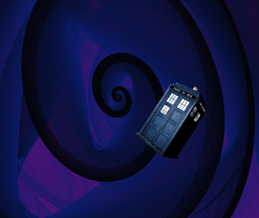 the TARDIS by Timelord909