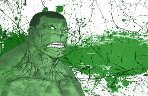 Hulk Splatter by jmascia