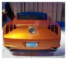 Giugiaro Mustang Rear View by Qphacs