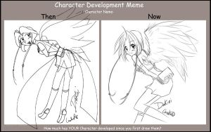 Character development meme by careko