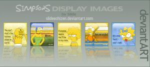 Simpsons Display Images by SlideEchizen