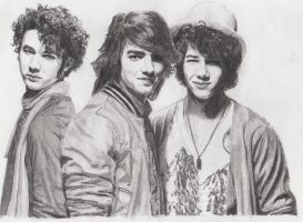 Jonas Brothers by MeikeZane