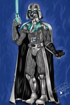 Darth Vader - Join me on the light side! by EletricDaisy