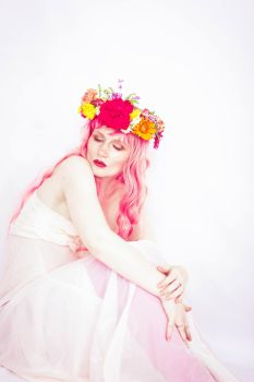 Flower crown 3 by Sinned-angel-stock