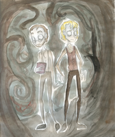the Grimm brothers by ladykenobi