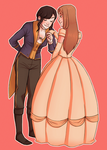 Beauty and the Beast by fatty-sloth