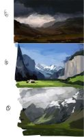 2012 paintings 1-3 by Robjenx